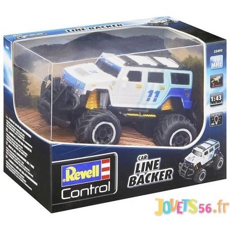 VOITURE SUV LINE BACKER 1.43E RADIOCOM 2 CANAUX 40MHZ - Jouets56.fr - Magasin jeux et jouets dans Morbihan en Bretagne