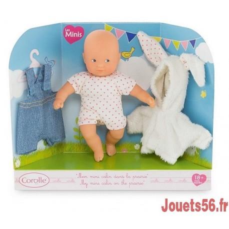 MINI CALIN DANS LA PRAIRIE-jouets-sajou-56