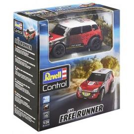 VOITURE RALLYE CAR FREE RUNNER 1.28E RADIOCOM 2 CANAUX 40MHZ - Jouets56.fr - Magasin jeux et jouets dans Morbihan en Bretagne