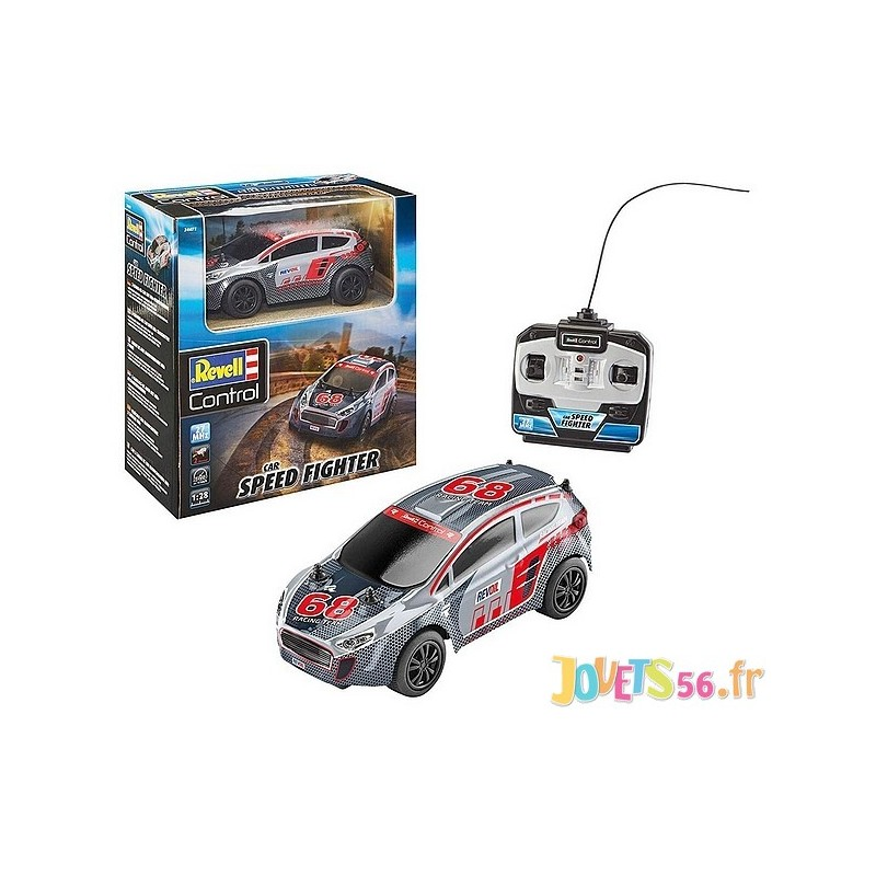 Radiocom Canaux Speed Fighter 1 28e 2 27mhz Voiture Rallye Car OyN8vPmn0w