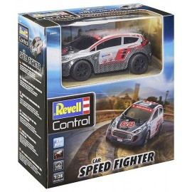 VOITURE RALLYE CAR SPEED FIGHTER 1.28E RADIOCOM 2 CANAUX 27MHZ