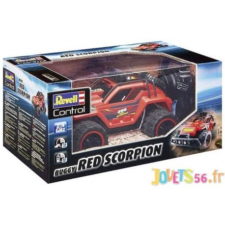 VOITURE CAR RED SCORPION RADICOCOM 2 CANAUX 2.4GHZ - Jouets56.fr - Magasin jeux et jouets dans Morbihan en Bretagne