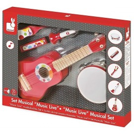 SET MUSICAL 5 INSTRUMENTS CONFETTI MUSIC LIVE