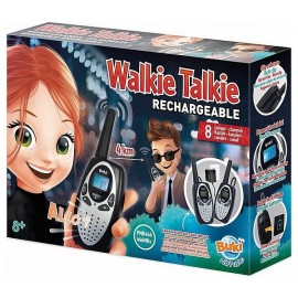 TALKIE WALKIE RECHARGEABLE 8 CANAUX PORTEE 4KM