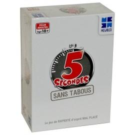 JEU 5 SECONDES SANS TABOUS - Jouets56.fr - Magasin jeux et jouets dans Morbihan en Bretagne