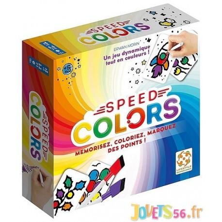 JEU SPEED COLORS - Jouets56.fr - Magasin jeux et jouets dans Morbihan en Bretagne