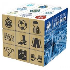 RUBIK'S CUBE 3X3 OM FOOT OLYMPIQUE MARSEILLE - Jouets56.fr - Magasin jeux et jouets dans Morbihan en Bretagne