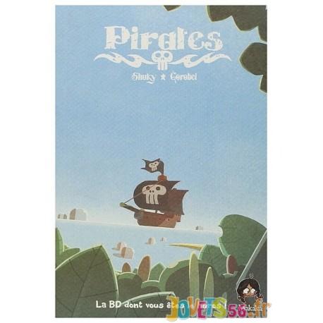 LIVRE PIRATES BD DONT VOUS ETES LE HEROS TOME 1 - Jouets56.fr - Magasin jeux et jouets dans Morbihan en Bretagne