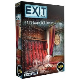JEU EXIT CADAVRE DE L'ORIENT EXPRESS ESCAPE GAME NIVEAU EXPERT - Jouets56.fr - Magasin jeux et jouets dans Morbihan en Bretagne