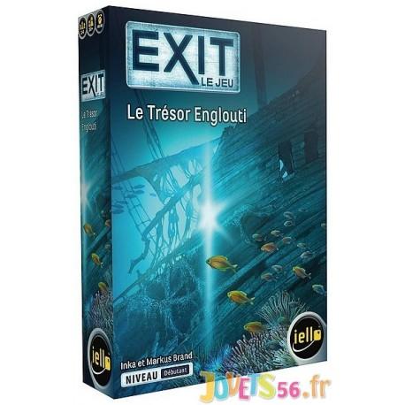 JEU EXIT LE TRESOR ENGLOUTI ESCAPE GAME NIVEAU DEBUTANT - Jouets56.fr - Magasin jeux et jouets dans Morbihan en Bretagne
