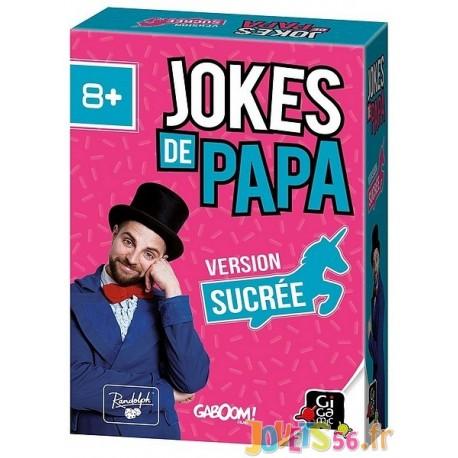 JOKES DE PAPA EXTENSION SUCREE - Jouets56.fr - Magasin jeux et jouets dans Morbihan en Bretagne