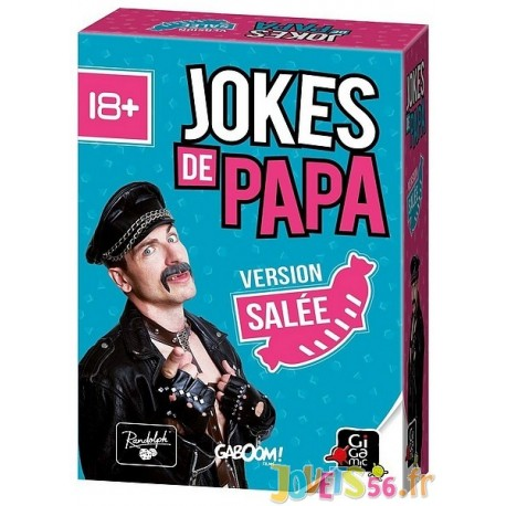 JOKES DE PAPA EXTENSION SALEE - Jouets56.fr - Magasin jeux et jouets dans Morbihan en Bretagne
