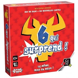 JEU SIX QUI SURPREND - Jouets56.fr - Magasin jeux et jouets dans Morbihan en Bretagne