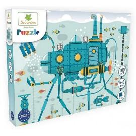 PUZZLE SOUS MARIN 100 PIECES 40X50CM - Jouets56.fr - Magasin jeux et jouets dans Morbihan en Bretagne