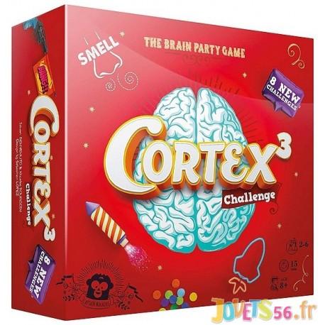 JEU CORTEX 3 CHALLENGE  - Jouets56.fr - Magasin jeux et jouets dans Morbihan en Bretagne