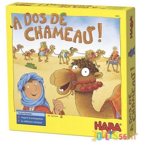 JEU A DOS DE CHAMEAU - Jouets56.fr - Magasin jeux et jouets dans Morbihan en Bretagne