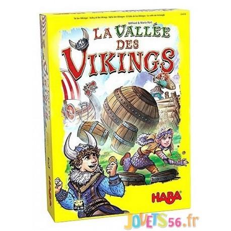 JEU LA VALLEE DES VIKINGS - Jouets56.fr - Magasin jeux et jouets dans Morbihan en Bretagne