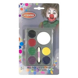 PALETTE MAQUILLAGE 7 FARDS GRAS COULEURS