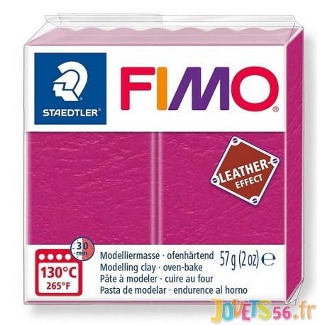 PATE FIMO 229 - EFFET CUIR BAIE - Jouets56.fr - Magasin jeux et jouets dans Morbihan en Bretagne