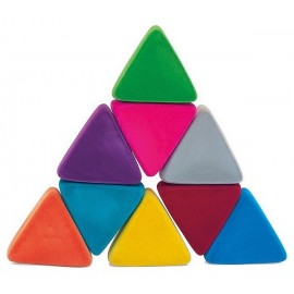 TRIANGLES CAOUTCHOUC NATUREL JEU EDUCATIF SOFT TOUCH