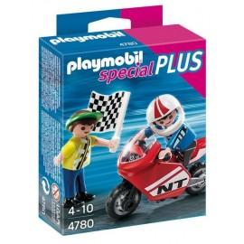 4780-ENFANTS AVEC MOTO DE COURSE-jouets-sajou-56