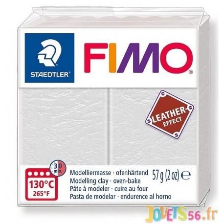 PATE FIMO 029 - EFFET CUIR IVOIRE - Jouets56.fr - Magasin jeux et jouets dans Morbihan en Bretagne