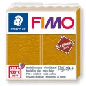 PATE FIMO 179 - EFFET CUIR OCRE