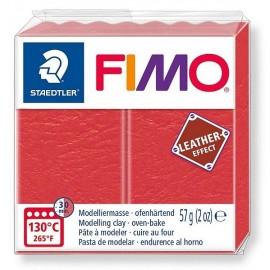 PATE FIMO 249 - EFFET CUIR PASTEQUE - Jouets56.fr - Magasin jeux et jouets dans Morbihan en Bretagne