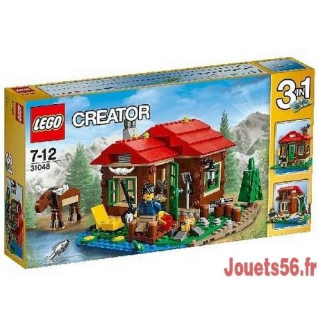 31048 LA CABANE AU BORD DU LAC CREATOR-jouets-sajou-56