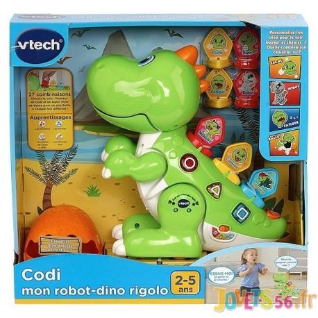CODI MON ROBOT DINO RIGOLO - Jouets56.fr - Magasin jeux et jouets dans Morbihan en Bretagne