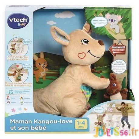 MAMAN KANGOU LOVE ET SON BEBE - Jouets56.fr - Magasin jeux et jouets dans Morbihan en Bretagne