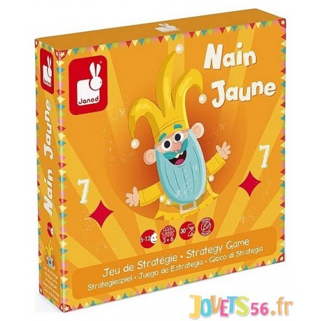 JEU DU NAIN JAUNE - Jouets56.fr - Magasin jeux et jouets dans Morbihan en Bretagne