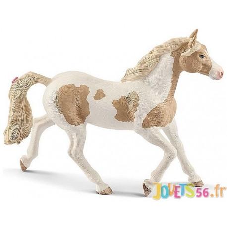 FIGURINE JUMENT PAINT HORSE - Jouets56.fr - Magasin jeux et jouets dans Morbihan en Bretagne