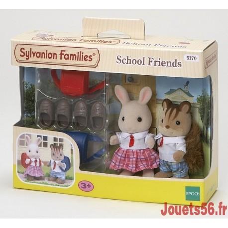 LES COPAINS D'ECOLE SYLVANIAN-jouets-sajou-56