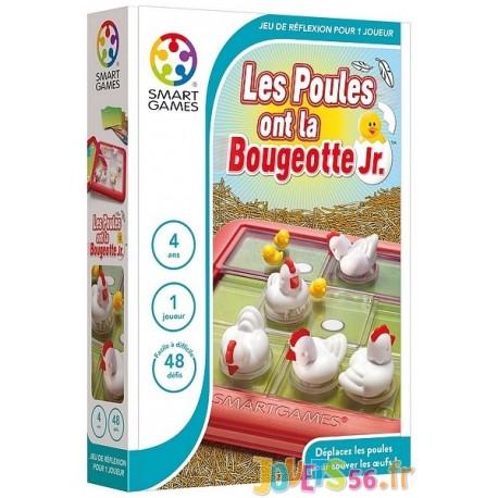 JEU LES POULES ONT LA BOUGEOTTE 3D JUNIOR - Jouets56.fr - Magasin jeux et jouets dans Morbihan en Bretagne