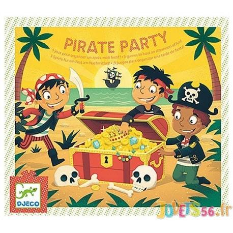 JEU ANNIVERSAIRE PIRATE PARTY - Jouets56.fr - Magasin jeux et jouets dans Morbihan en Bretagne
