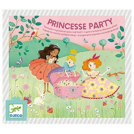 JEU ANNIVERSAIRE PRINCESSE PARTY