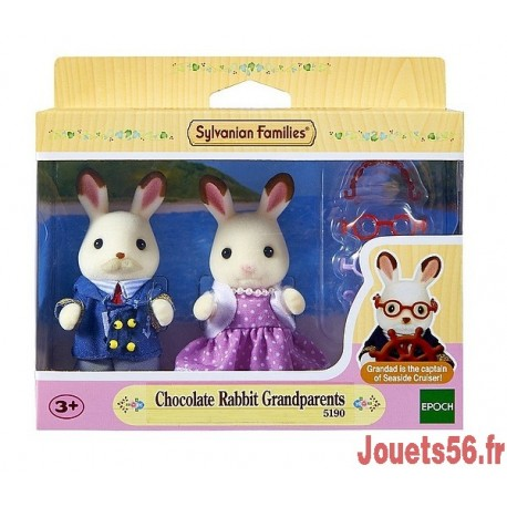GRANDS PARENTS LAPINS CHOCOLAT-jouets-sajou-56