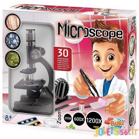 MICROSCOPE 30 EXPERIENCES - Jouets56.fr - Magasin jeux et jouets dans Morbihan en Bretagne