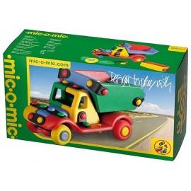 MICOMIC PETIT CAMION A CONSTRUIRE PETIT MODELE - Jouets56.fr - Magasin jeux et jouets dans Morbihan en Bretagne