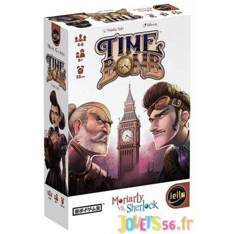 JEU TIME BOMB - Jouets56.fr - Magasin jeux et jouets dans Morbihan en Bretagne