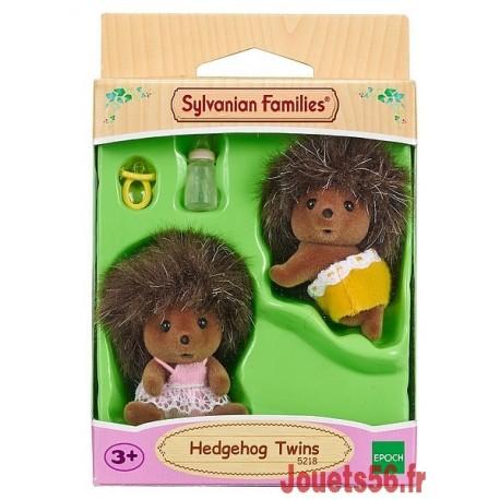 JUMEAUX HERISSONS SYLVANIAN-jouets-sajou-56