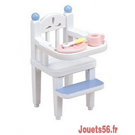 CHAISE HAUTE POUR BEBE SYLVANIAN-jouets-sajou-56