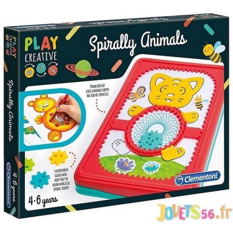 ANIMAUX EN SPIRALES SPIROGRAPHE - Jouets56.fr - Magasin jeux et jouets dans Morbihan en Bretagne