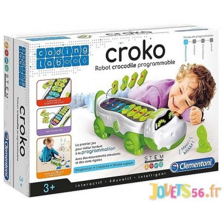 CROKO ROBOT CROCODILE PROGRAMMABLE - Jouets56.fr - Magasin jeux et jouets dans Morbihan en Bretagne