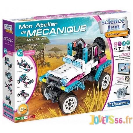 PARC SAFARI ATELIER DE MECANIQUE - Jouets56.fr - Magasin jeux et jouets dans Morbihan en Bretagne