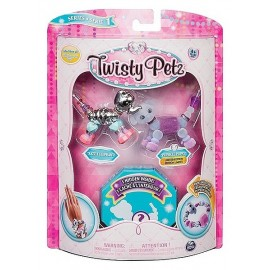 PACK 3 BRACELETS TWISTY PETZ ASST
