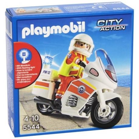 5544-SAUVETEUR AVEC MOTO-jouets-sajou-56