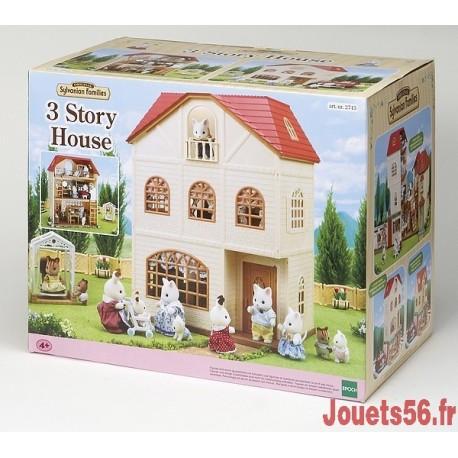 MAISON AUX 3 HISTOIRES SYLVANIAN-jouets-sajou-56