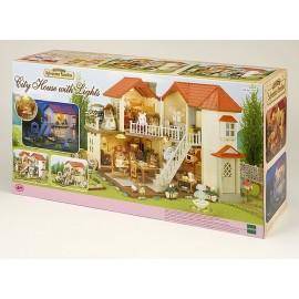 GRANDE MAISON TRADITION ECLAIREE SYLVANIAN-jouets-sajou-56